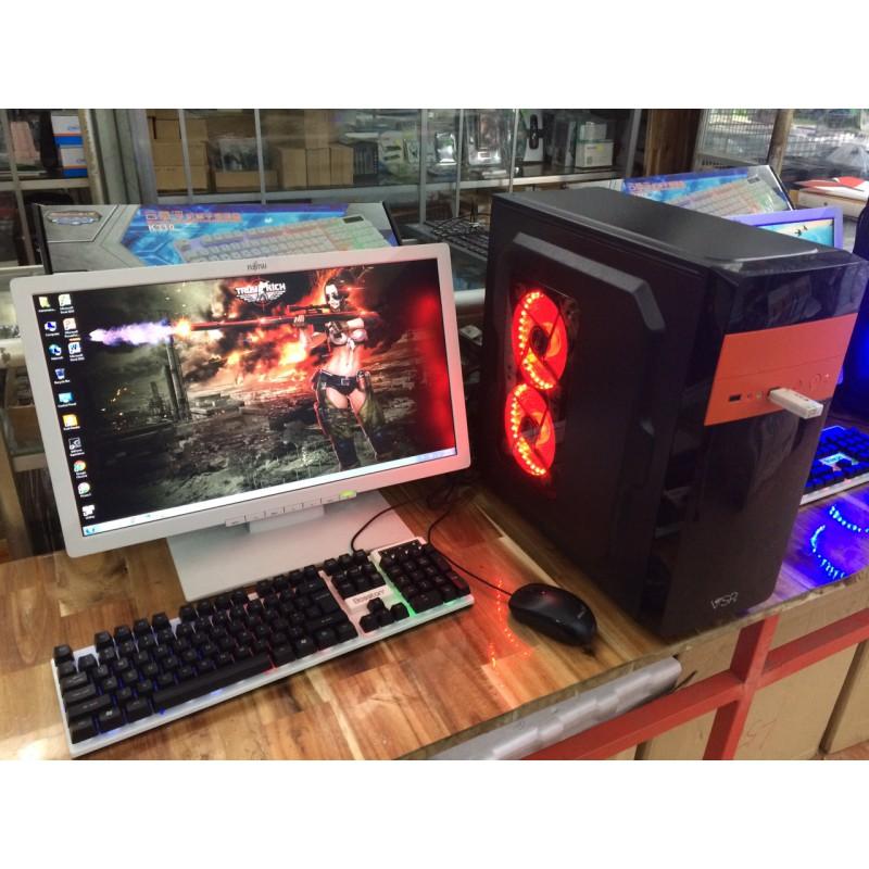 """MÁY BỘ GAME I3 4130 8G 250G NVIDIA GTX750TI 2G LCD 22"""""""